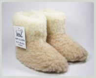 Child slippers 100% virgin wool merino sheep