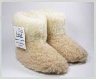Child slippers 100% virgin wool merino sheep