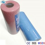 Wavy Nonwoven Roll Kitchen/household wiping cloth Furniture wiping cloth 60%viscose 40%...