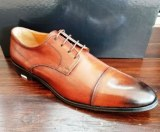 Fabrication de chaussure homme made in Italy tout cuir