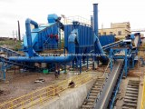 Concrete waste recycling plant, construction building waste management system