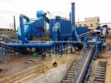 Concrete waste recycling plant, construction building waste management system