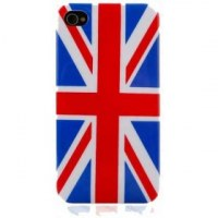 DRAPEAU ANGLETERRE Coque rigide pour iPhone 4 et iPhone 4S