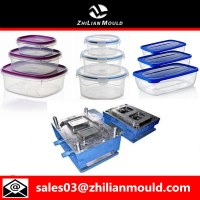 High qualtiy plastic injection lunch box mould