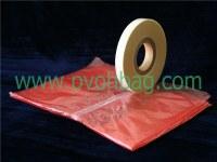 PE soluble strip laundry sack