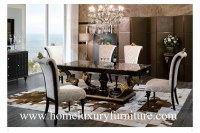 Wood furniture dining table and chairs dining room furniture Italy Style table TN005M