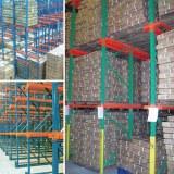 Used storage warehouse drive in rack