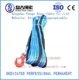 44 amsteel snow mobile UHMWPE synthetic winch rope