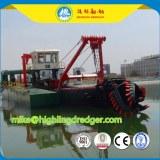 1500m³ river sand cutter suction dredger for sale