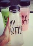 500ml tritan material Fashion sport my bottle lemon juice space cup Drinking Water bott...