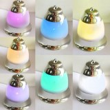 Promotional gift christmas tree decoration led light christmas bell with music sound