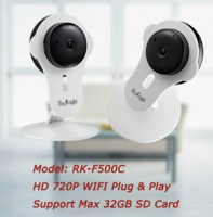 HD 720P WIFI Smart Mini Cube Camera