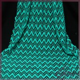 Green dot embroidery chemical lace fabric for garments