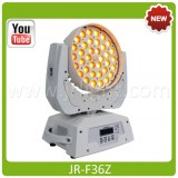 LED Moving Head Wash Zoom 36x15W RGBWA+UV 6in1