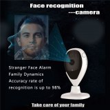 Facial recognition camera face detection smart home security alarm