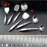 China Supplier Wholesale 6pcs Stainless Steel Kitchenware Set