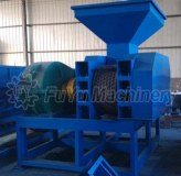 FYXM-750 briquette machine for fluorite powder