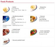 FRESH PRODUCTS (Long Shelf Life)