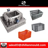 Plastic injection crate mould with high quality