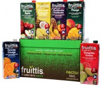 Fruit juice FRUITTIS tetra brick 12 x 1L