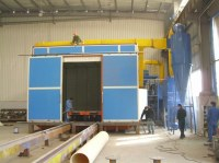 Metal Surface Pretreatment Grit Blasting Room