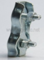 GALV DOUBLE WIRE ROPE CLIPS