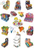 Range of candy toys hallal