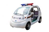 New design electric car electric police car