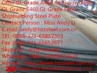 Offer:GL Grade A460,GL Grade D460,GL Grade E460,GL Grade F460,Shipbuilding Steel Plate