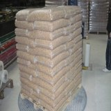 Wood pellet Din+