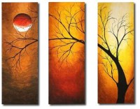 High quality group canvas painting, new desgin, GPL014