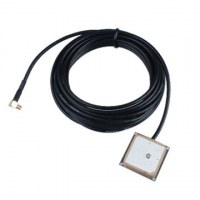 GPS ceramic antenna with RG174 Cable, R/A MCX Male, L=3m