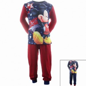 12x Mickey pajamas from 2 to 8 years