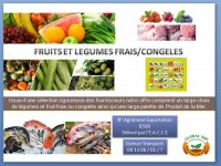 Fruits & vegetables from Morocco