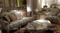 Sofa home wooden frame silver color living room furniture living room sets FF113