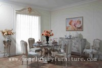 Dining table wood dining table round dining table 4 chairs marble dining table sets FT...