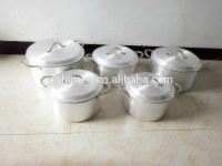 Aluminum pot 5 set cookware set for Egypt