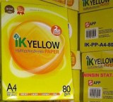 IK YELLOW A4 COPY PAPER A4 102-104%