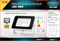 PROJECTEUR LED ULTRA PLAT 10 W - 900 lumens