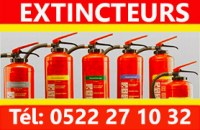 Extincteur co2 Rabat