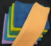 Microfiber towel for cleaning