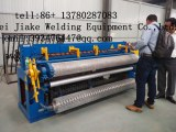 Automatic welded wire mesh machine production line