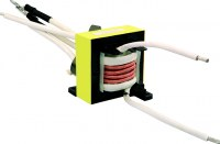 Silk-covered wire series transformer
