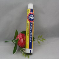 High quality collapsible aluminum chocolate tubes