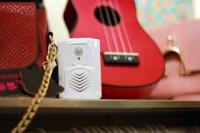 PIR sensor motion active recording speaker