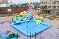 New best inflatable water park for sale /water park inflatables / inflatable action water park fo...