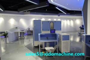 Automatic weighing down filling machine