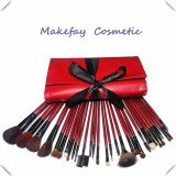 High quality PU leather 22piece professional makeup brush sets