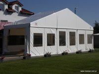Halls, tents, marquise