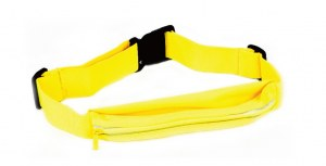 Tas pinggang, waist bag and sport armband for night runners